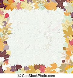 Grunge Herbst Hintergrund. EPS 8