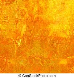 Grunge orangen Hintergrund