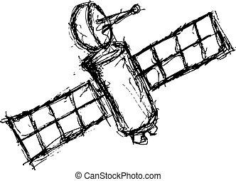 Grunge Raumschiff 2