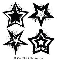 Grunge Star Set