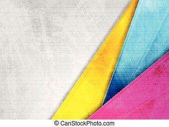 Grunge Tech farbigen Hintergrund