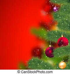 Grunge Weihnachtsgeschichte. EPS 8