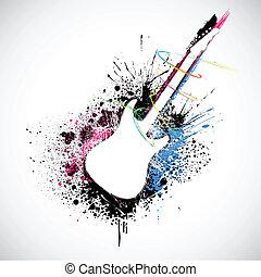 Grungy Gitarre