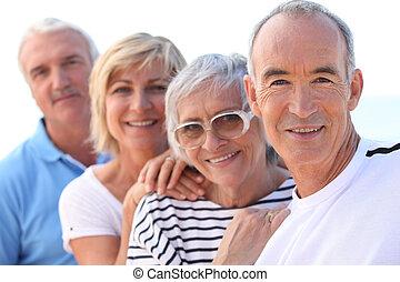 Gruppe der Senioren