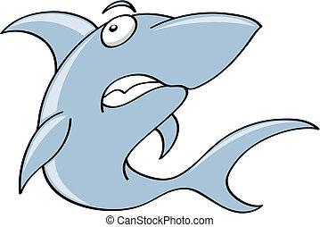 Gruseliger Hai