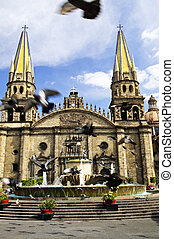 Guadalajara Kathedrale in Jalisco, Mexico