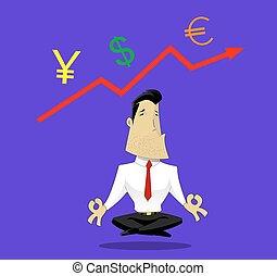 Guru der Wechselkurse.