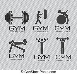 Gym-Ikonen