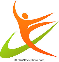 Gymnast Icon / Logo: 1
