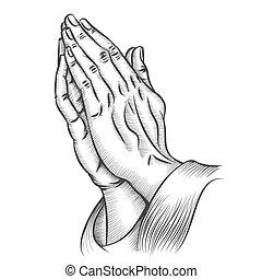 Händchen beten