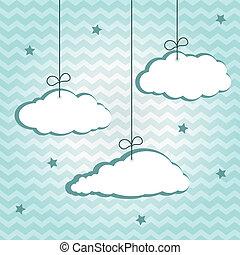 Hängende Wolken