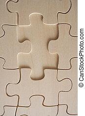 Hölzerne Puzzle 2