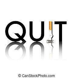 Hör auf zu rauchen