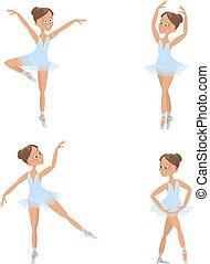 Hübsche kleine Ballerinas.