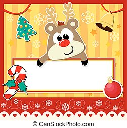 Hübsche Weihnachtskarte.