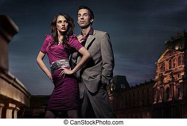 Hübsches junges Paar
