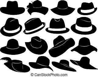 hüte, abbildung