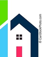 H von House Logo Design.