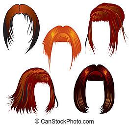 Haarsträhne