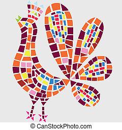 Hahn Mosaik
