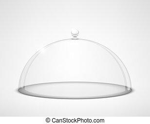 half-sphere, glas, durchsichtig