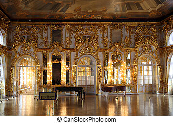 Hall Palastinnere in Pushkin