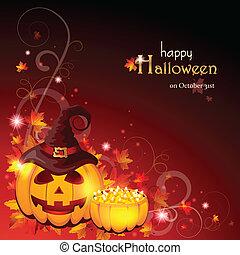 Halloween-Hintergrund - EPS 10