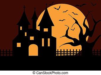 halloween, hofburg, abbildung