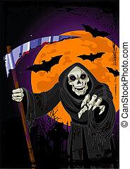 Halloween-Stern-Hintergrund