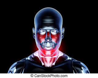 Halsschmerzen - Anatomie