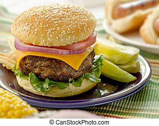 Hamburger-Menü
