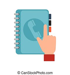 Handfinger zeigen