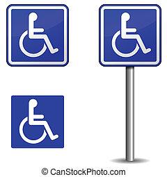 Handicap-Zeichen
