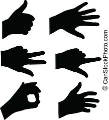 Hands Silhouette