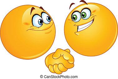 Handshake-Emoticons
