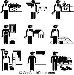 Handwerkerarbeit