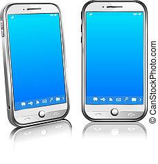 Handy Smart Handy, weißes 3D
