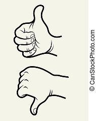 Handzeichen 1