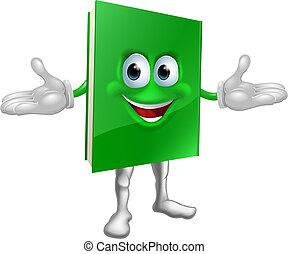Happy Cartoon Bookman