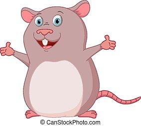 Happy Maus Cartoon.