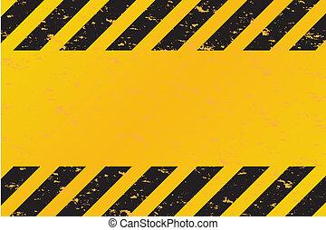 Hazardstreifen Vektor