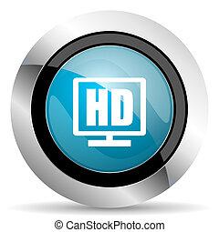 Hd Display Icon.