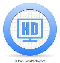 HD-Display-Ikone