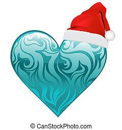 Heart Christmas Vektor Design