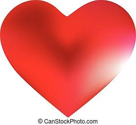 heart., form, hintergrund, gefärbt