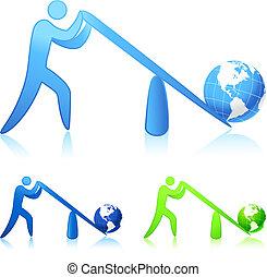 Hebt die Welt (Leverage)
