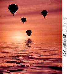 Heiße Luftballons