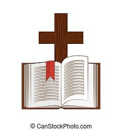 Heilige Bibel-Ikone.