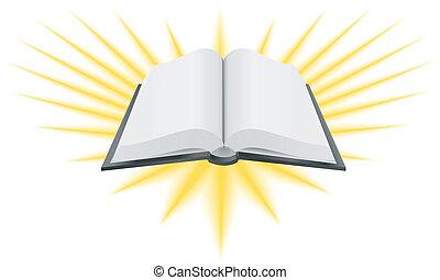 Heilige Buch-Illustration