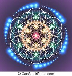 Heilige Geometrie des Lebens